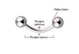 "Bioflex Kulmakoru 1,2 mm ""Häivekoru"""