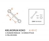 "Kielikoru ""Steel Barbell with 8mm Austrian Crystal Paved Ferido Gem Dome Top"""