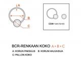Paksu rengas BCR 4 mm