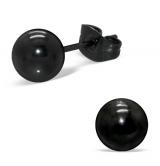 "Blacksteel Nappikorvakorut ""6 mm Ball Ear Studs"""