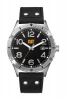 Caterpillar-Kello Camden Black Dial Leather 43 mm NI.241.34.131