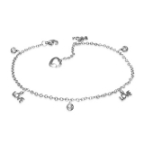 """Nilkkaketju """"Love Monogram Ball Charm Link Chain Bracelet/ Anklet"""""""
