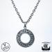 Northern Viking Jewelry® 925-Hopea Riimukiekko Riipus