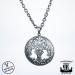 Northern Viking Jewelry® 925-Hopea Tree Of Life-Riipus