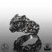 925-Hopea Fenrir Wolf-Sormus, Northern Viking Jewelry®