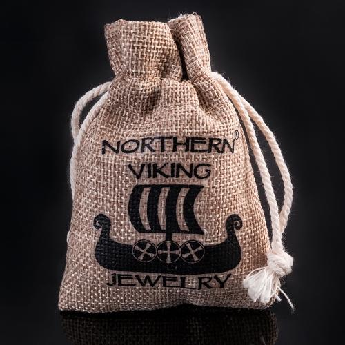 "Northern Viking Jewelry®-Sormus ""Riimu Vegvisir"""