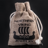 925-Hopea Valknut-Sormus Oksidoitu, Northern Viking Jewelry®