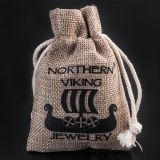 Northern Viking Jewelry® 925-Hopea Huutava Lohikäärme Thorin Vasara