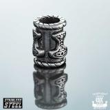 """6 mm Northern Viking Jewelry-Partakoru """"Thor's Hammer"""""""