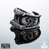"""Northern Viking Jewelry® """"Raven Thorin Vasara-Sormus"""""""