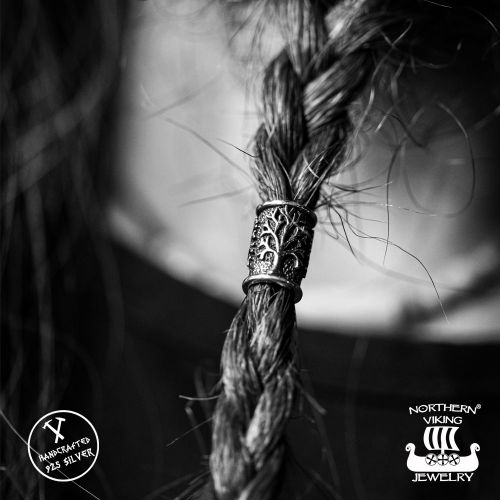 "Northern Viking Jewelry®-Partakoru ""Silver Tree Of Life"""