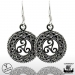 "Northern Viking Jewelry® ""925 Triskele-Korvakorut"""