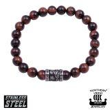 "Northern Viking Jewelry®-Rannekoru ""Tiger Eye Runes"""