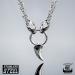 Northern Viking Jewelry® Kuningasketju Sudenpäillä + Fenrir Wolf