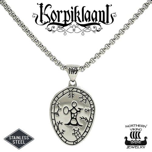 Northern Viking Jewelry® Korpiklaani Noitarumpu-Riipus + Noitarumpu Korvakorut