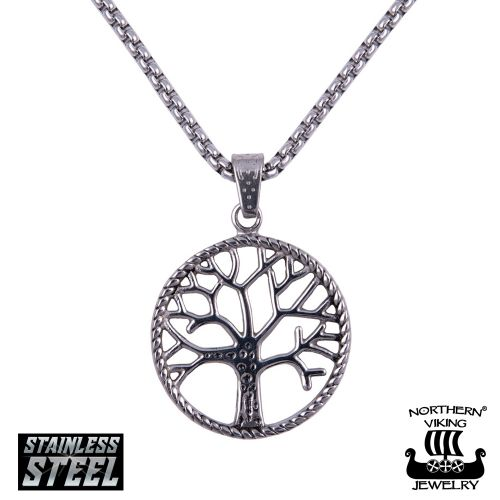 "Northern Viking Jewelry®-Riipus ""Solid Tree Of Life"""