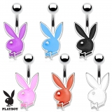 Playboy Bunny 316L Surgical Steel Petite Navel Ring