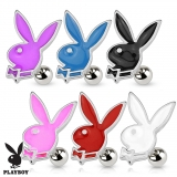 Playboy Bunny 316L Surgical Steel Cartilage/Tragus Barbell