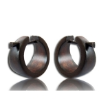 "Puiset korvakorut ""20 mm Wood Ear Hoop"""