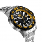 Caterpillar-Kello Drive Date Black/Yellow Dial 45,5 mm PW.141.11.127