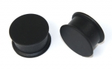 "Silicone Flesh Plug ""Black"""