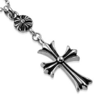 "Cross Jewelry-Riipus ""Fleur De Lis Cross Pendant"""