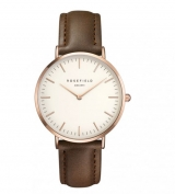 Rosefield Bowery White-Brown-Rosegold (BWBRR-B3)