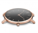 Rosefield Bowery Black-Black-Rosegold (BBBR-B11)