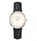 Rosefield Tribeca White-Black-Silver (TWBLS-T54)