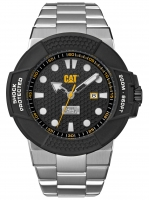 Caterpillar-Kello Shockmaster Steel / Black dial 48 mm SF.141.11.111
