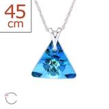 "Swarovski®-Kaulakoru ""Bermuda Blue Crystal From Swarovski®"""