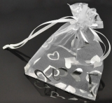 """Hopeinen keräilykoru """"Silver Square I Love You Charm With Lobster"""""""