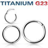 Titaani G23 Rengas Hinged Segment Ring 1,2 mm