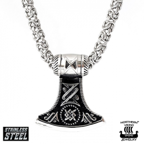 "Northern Viking Jewelry-Riipus ""Viking Thor's Hammer Dagaz"""