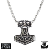 "Northern Viking Jewelry-Riipus ""Mjolnir Viking Thor's Hammer"""