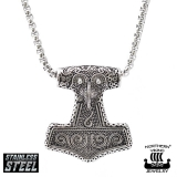 "Northern Viking Jewelry-Riipus ""Raven Thor's Hammer"""