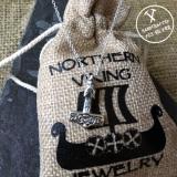 925-Hopea Thorin Vasara-Riipus Lapsille, Northern Viking Jewelry