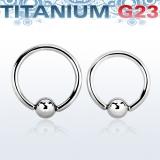 Rengas BCR 2 mm Titaani (Grade 23)