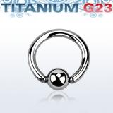 Rengas BCR 3 mm Titaani (Grade 23)