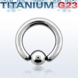 Rengas BCR 4 mm Titaani (Grade 23)