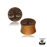 "Northern Viking Jewelry®-Plug ""Tree Of Life"""