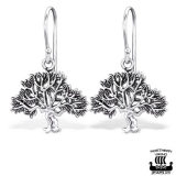 "Northern Viking Jewelry-Korvakorut ""925 Silver Tree Of Life"""