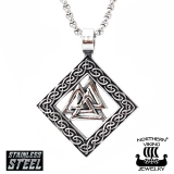 "Northern Viking Jewelry-Riipus ""Valknut"""