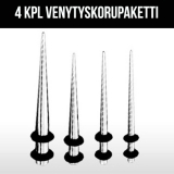 """Venytyskorupaketti """"4 kpl 316L Kirurginteräs"""""""
