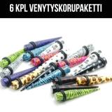 "Ventyskoru Starter Kit 3 mm - 10 mm Puikko ""Mix""  6 kpl"