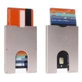 """Walter Wallet-Korttikotelo """"Slim Aluminium Rosegold 7 Cards"""""""