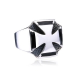 "Heavy Steel Jewelry-Sormus ""Iron Cross Ring For Biker"""