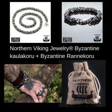 Northern Viking Jewelry® Byzantine kaulakoru + Byzantine Rannekoru